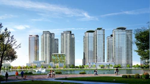 Đất Xanh Miền Bắc mở bán đầu xuân căn hộ cao cấp Goldmark City - 1