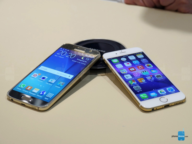 Chiếc smartphone mới của Samsung sở hữu thiết kế mới sang trọng, bộ khung kim loại chắc chắn, và ốp kính cường lực Gorilla Glass 4 thế hệ mới nhất ở cả hai mặt giúp máy sang trọng và cứng cáp hơn các mẫu Galaxy trước đó