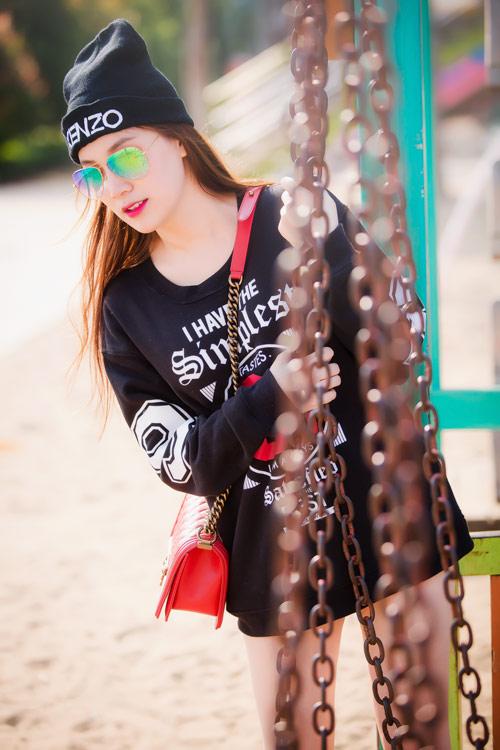 Xuống phố cá tính như cô gái Sài Gòn thích giày bệt - 6