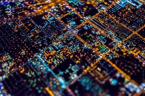 """Ngắm """"thành phố không ngủ"""" Las Vegas từ độ cao 2600 mét - 3"""
