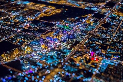"""Ngắm """"thành phố không ngủ"""" Las Vegas từ độ cao 2600 mét - 5"""
