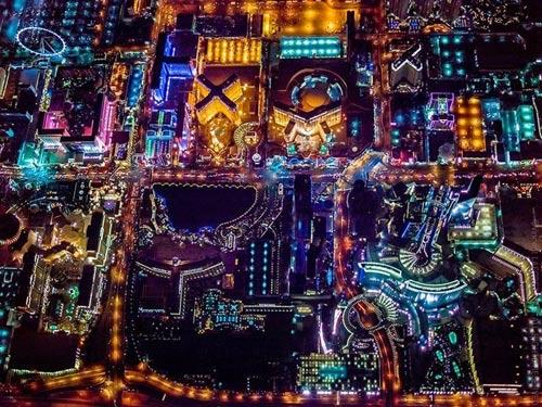 """Ngắm """"thành phố không ngủ"""" Las Vegas từ độ cao 2600 mét - 8"""