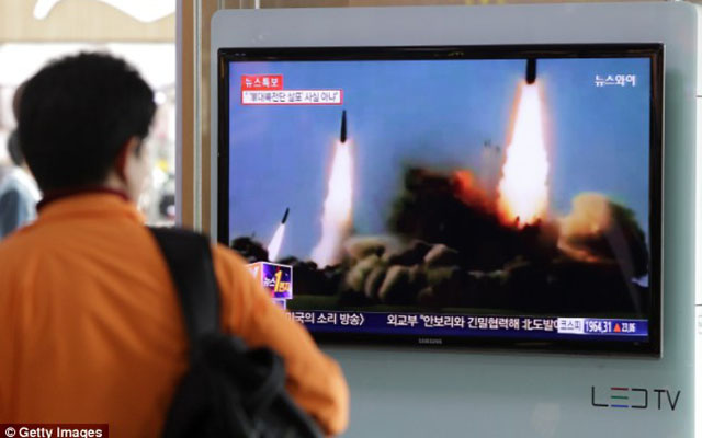 """Triều Tiên chuẩn bị bắn tên lửa khủng """"trêu ngươi"""" Mỹ, Hàn? - 1"""