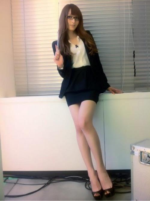Người đẹp chuyển giới Nhật Bản gợi cảm đến nao lòng - 2