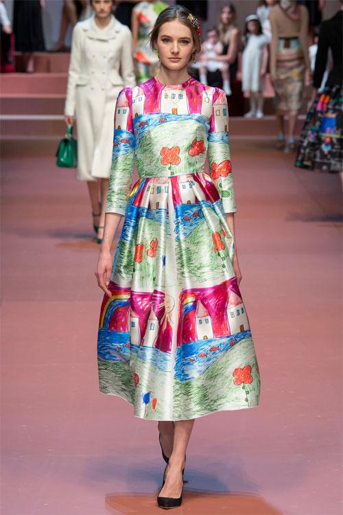 Dolce & Gabbana tôn vinh mẹ trong bộ sưu tập mới - 5