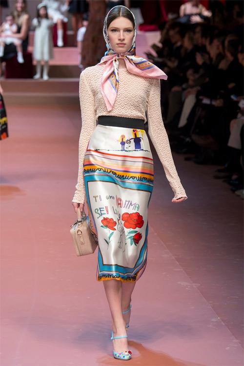 Dolce & Gabbana tôn vinh mẹ trong bộ sưu tập mới - 3
