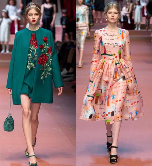 Dolce & Gabbana tôn vinh mẹ trong bộ sưu tập mới - 1