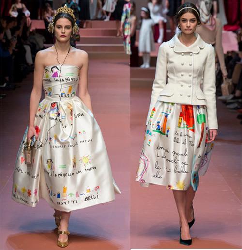 Dolce & Gabbana tôn vinh mẹ trong bộ sưu tập mới - 4