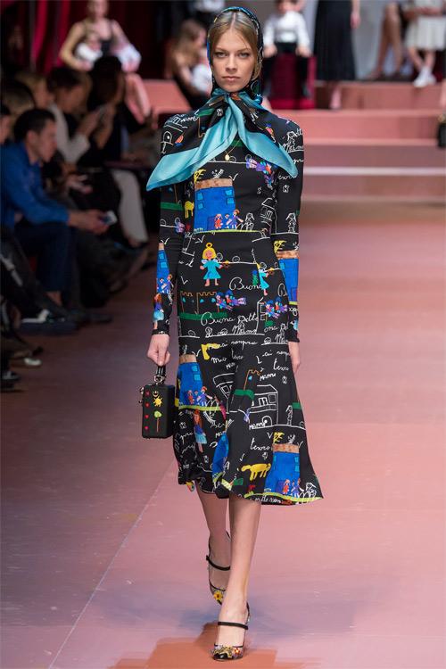 Dolce & Gabbana tôn vinh mẹ trong bộ sưu tập mới - 2