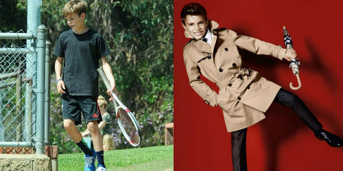 Quý tử nhà Beckham có thiên phú thành SAO tennis - 2