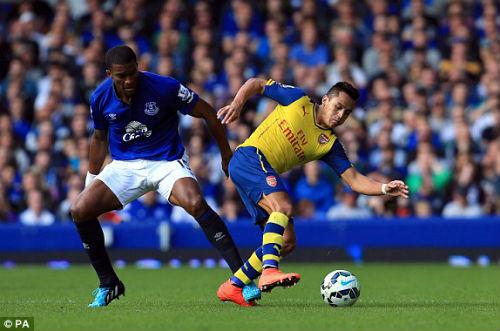 Sanchez sa sút: Điềm may cho Arsenal - 1