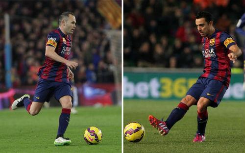 Xavi, Iniesta: Những người thừa ở Nou Camp - 1