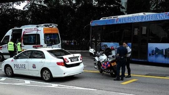 Rơi từ đường cao tốc, cô gái Việt tử vong ở Singapore - 1