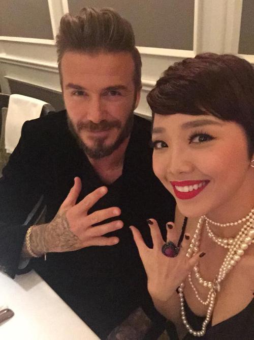 Hà Hồ, Tóc Tiên thích thú tham dự tiệc của David Beckham - 5