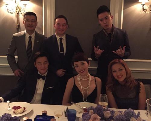 Hà Hồ, Tóc Tiên thích thú tham dự tiệc của David Beckham - 6