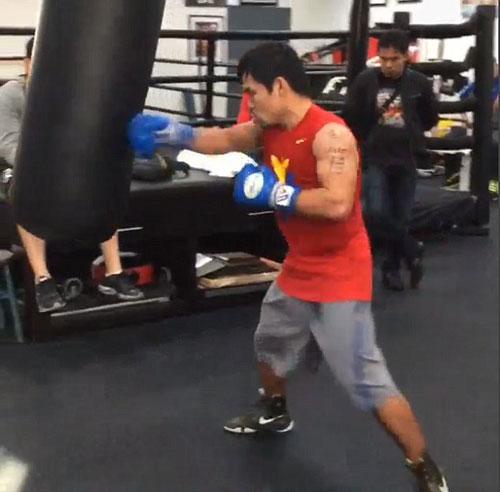 Pacquiao thách đấu Mayweather vì con cái - 6