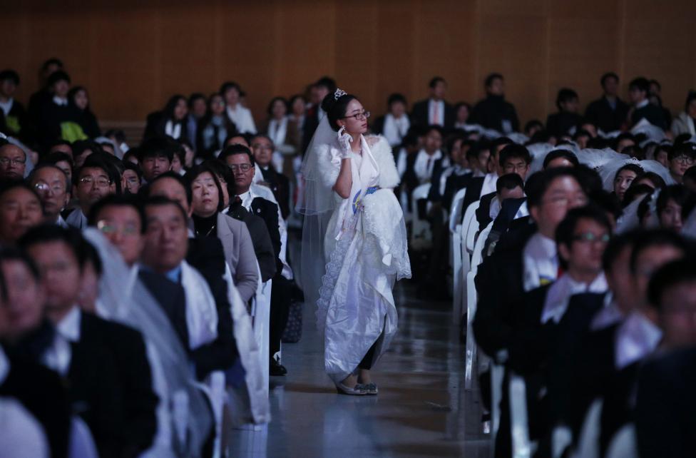 3.800 cặp đôi trên thế giới đổ về Hàn Quốc cưới tập thể - 2