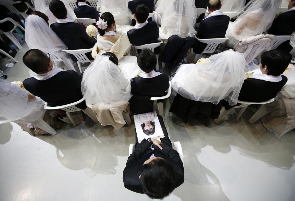 3.800 cặp đôi trên thế giới đổ về Hàn Quốc cưới tập thể - 3