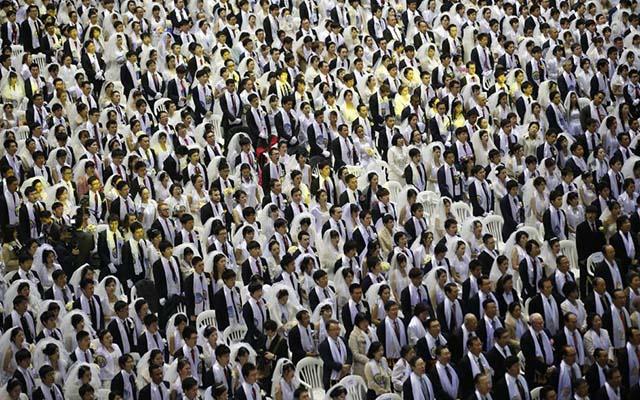 3.800 cặp đôi trên thế giới đổ về Hàn Quốc cưới tập thể - 1