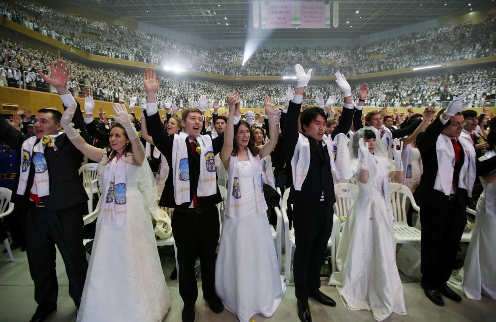 3.800 cặp đôi trên thế giới đổ về Hàn Quốc cưới tập thể - 5