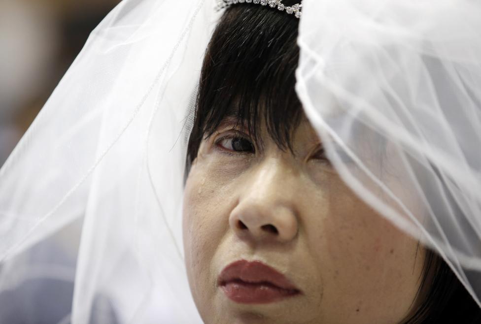 3.800 cặp đôi trên thế giới đổ về Hàn Quốc cưới tập thể - 11
