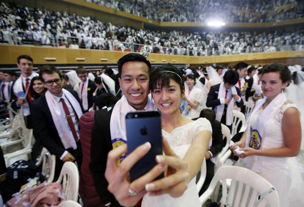 3.800 cặp đôi trên thế giới đổ về Hàn Quốc cưới tập thể - 8