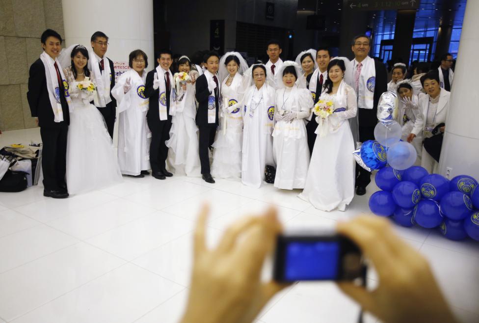 3.800 cặp đôi trên thế giới đổ về Hàn Quốc cưới tập thể - 10