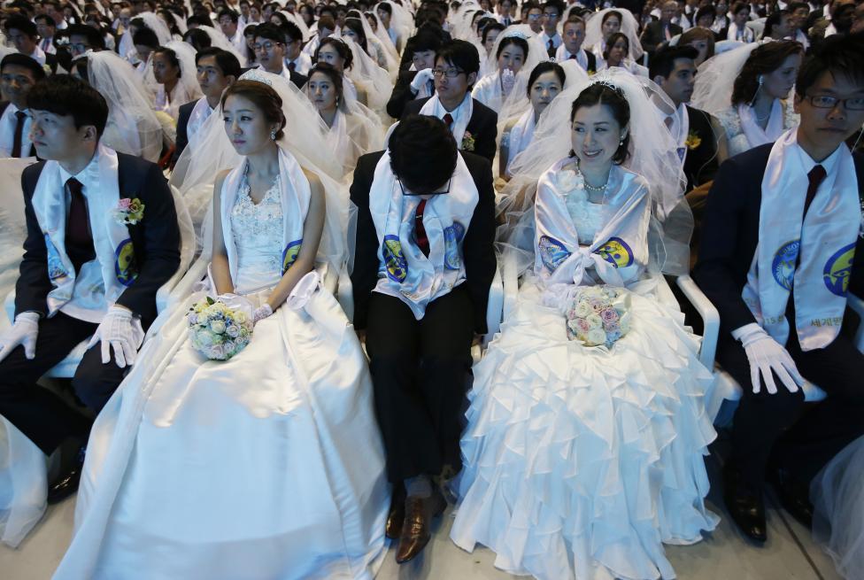 3.800 cặp đôi trên thế giới đổ về Hàn Quốc cưới tập thể - 12