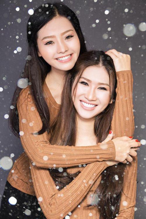 """Quỳnh Thi - Khánh Hiền cuốn hút trong bộ ảnh """"twins"""" chào 8.3 - 4"""