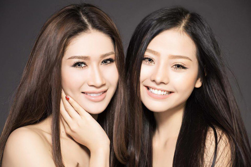 """Quỳnh Thi - Khánh Hiền cuốn hút trong bộ ảnh """"twins"""" chào 8.3 - 3"""