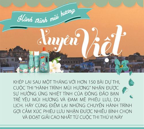 Hành trình mùi hương xuyên Việt - 1