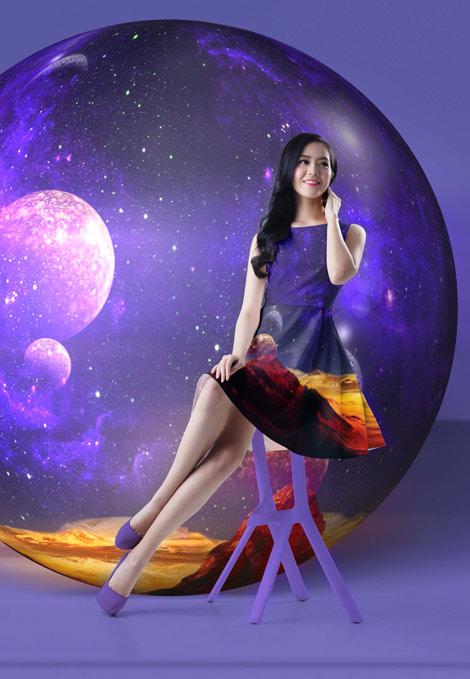 """Thời trang và phong cách cùng BST """"Không gian & Sự sống"""" - 1"""