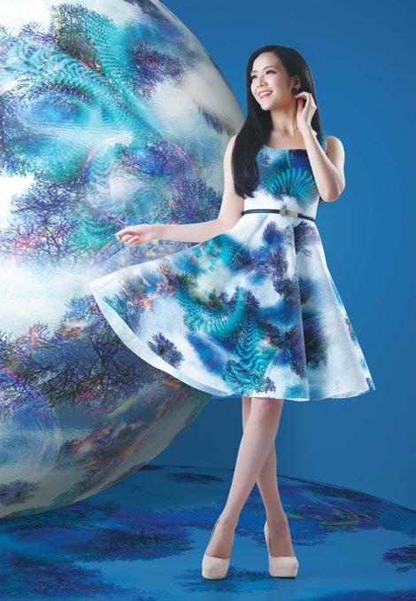"""Thời trang và phong cách cùng BST """"Không gian & Sự sống"""" - 3"""