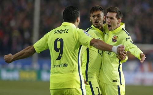 "Messi - Suarez - Neymar đang ""phát hỏa"" khủng khiếp - 2"