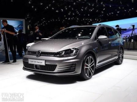 Cận cảnh phiên bản xe du lịch Volkswagen Golf GTD mới - 1