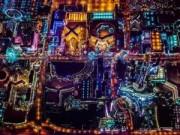 """Ngắm """"thành phố không ngủ"""" Las Vegas từ độ cao 2600 mét"""