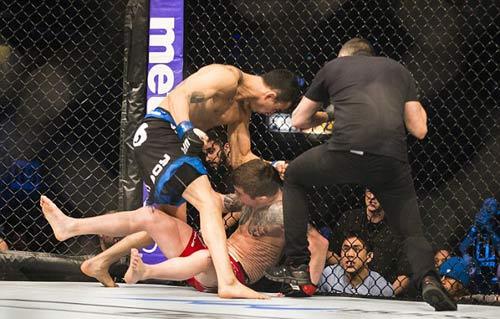 5 trận đấu hạ màn nhanh nhất lịch sử UFC - 2