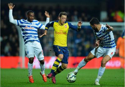 TRỰC TIẾP QPR - Arsenal: Kịch tính (KT) - 3