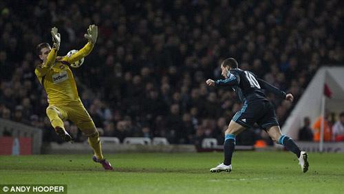 West Ham - Chelsea: 90 phút mệt nhoài - 1