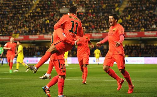 Villarreal - Barca: Hàng công tỏa sáng - 1