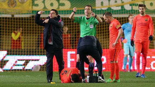 Vào chung kết cúp nhà Vua, Barca tổn thất nặng - 1