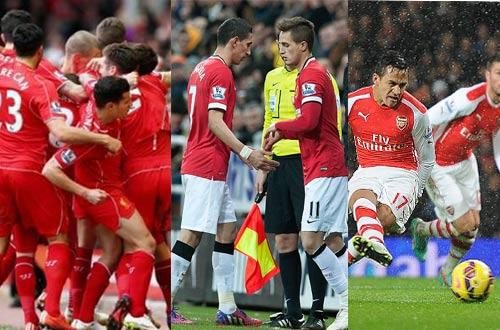 """Liverpool tăng tốc: MU, Arsenal """"ngồi trên lửa"""" Top 4 - 1"""