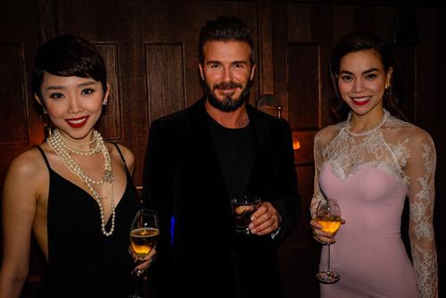 Hồ Ngọc Hà, Tóc Tiên nổi bật bên David Beckham - 1