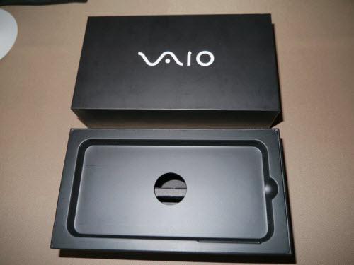 Lộ ảnh hộp smartphone đầu tiên của VAIO - 3