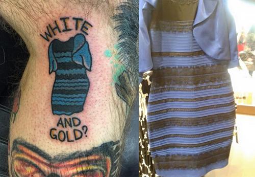 Chàng trai xăm chiếc váy xanh-đen ở chân vì bị ám ảnh - 2