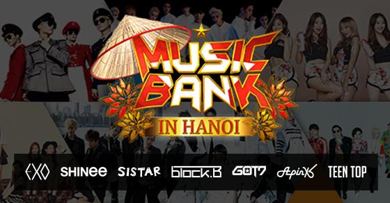 """Những thông tin hot về """"siêu show"""" Music Bank Hà Nội 2015 - 1"""