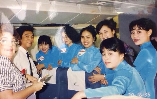 Ngắm nữ tiếp viên hàng không VNA qua các thời kỳ - 3