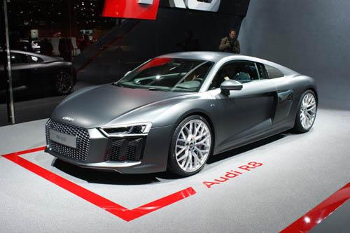 Audi R8 2015 bảnh chọe tại Geneva - 5
