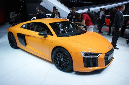 Audi R8 2015 bảnh chọe tại Geneva - 3