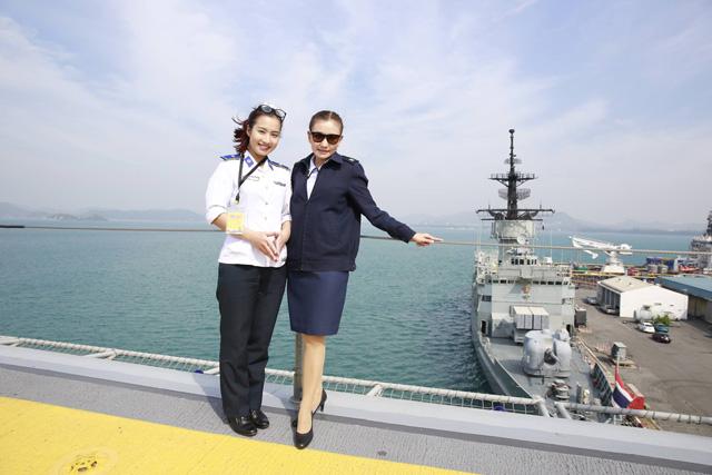 Gặp gỡ nữ thiếu úy xinh đẹp của Cảnh sát biển VN - 3